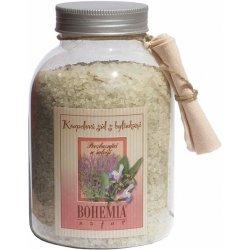 Bohemia Natur Šalvěj s bylinkami povzbuzující koupelová sůl 1,2 kg