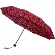 Dámský skládací deštník Gepard ČERVENÁ