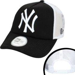 73bc29b005f Kšíltovka New Era Clean Trucker New York Yankees Navy White Snapback modrá    bílá