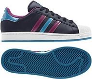 Adidas SUPERSTAR 2 W Tmavě modro fialové Q23586