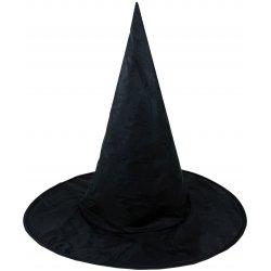 Klobouk černý čaroděj Halloween