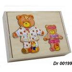 Dromader vkládačka oblečení medvědice s medvídětem