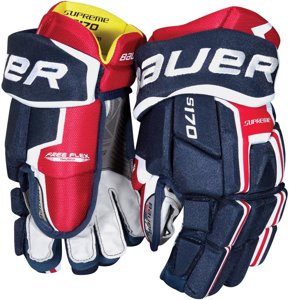Hokejové rukavice Bauer SUPREME S170 JR 9df8c99678