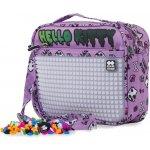 Pixie Crew taška přes rameno PXB0989 Hello Kitty fialová