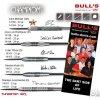 Šipky Bulls Steel Champions Jose Luis Rodriguez (D) 22gr. 14142