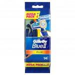 Gillette Blue II Plus 14 ks