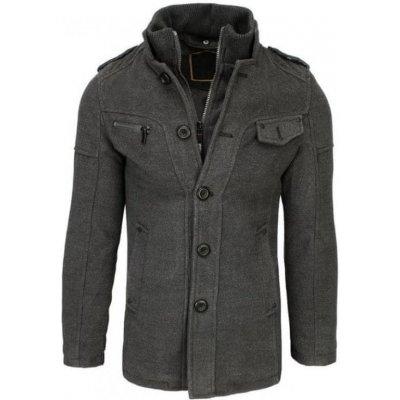 Manstyle pánský kabát zimní cx0418 šedý
