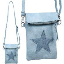 dámská kabelka taška crossbody modrá
