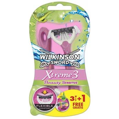 Wilkinson Xtreme3 Beauty Sensitive 4 ks