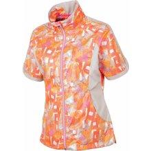 Sunice Women Britanny Windwear Oyster/Neon Pink Flash Print