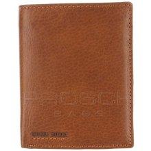 Greenburry Kožená peněženka 684-24 Cognac