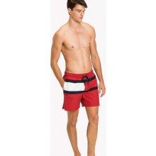 Tommy Hilfiger pánské červené plavky 915144f98f