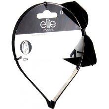 Čelenka s mašlí Elite Models kovová, černá