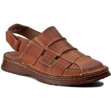 Sandály WALDI - 0038 Brąz Bufallo