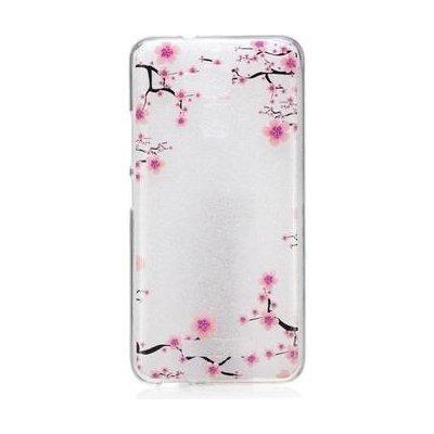 Pouzdro Softy gelové Asus Zenfone 3 Max ZC520TL - kvetoucí větve