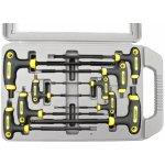 Imbusové klíče Extol 9 ks 2-2,5-3-4-5-6-7-8-10mm T-držadlo