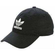 d86e7a9e365 Adidas Originals Trefoil Logo Snapback Trucker Cap Black