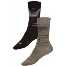 Litex Elegantní ponožky 99658 černá