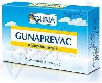 GUNAPREVAC por.gra. 6x1g