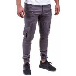 Ombre pánské kalhoty Chino-Joggers Biker P390 šedá 18217 od 899 Kč ... 71ac4fcff39