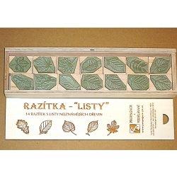 Stanislav Novák Razítka LISTY 14 razítek s listy nejznámějších dřevin 0b9f70c723