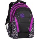 Bagmaster batoh BAG 8 A černá-růžová-fialová