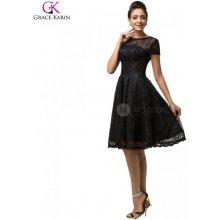 Grace Karin společenské šaty krátké CL7559 černá 505df45695