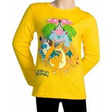 Dětské tričko Pokemon pro kluky žluté