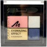 Manhattan Eyemazing Effect Eye shadow Palette oční stíny 96D Top Of The Taupe 15 g