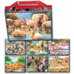 Dohany 604-5 veľké pohádkoví kostky safari 20 ks