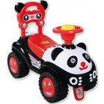 Alexis odrážedlo autíčko Panda červeno/černá
