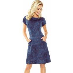 57e84e19d397 Dámské šaty Numoco dámské džínové šaty 155-2