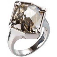 Evolution Group CZ Stříbrný prsten s kamenem Crystals from Swarovski® Gold  EG5045 b8e2d48e8d5
