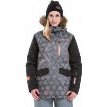 Meatfly Chelsea 2 Jacket 17 B Grey Triangle Print black