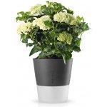 Eva Solo Samozavlažovací květináč šedá Ø 25 cm