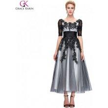 Grace Karin společenské šaty dlouhé CL6051-1 černá 57933e3e38