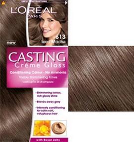 Loréal Casting Creme Gloss 613 ledové mochaccino barva na vlasy ...