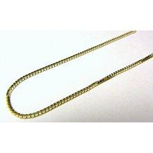 Náramek zlatý kostičkovaný dámský silný H456