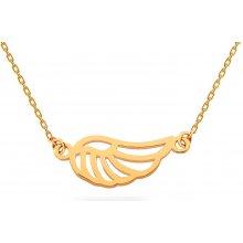 iZlato Forever Zlatý náhrdelník Andělské křídlo IZ17499 5d93b55b2a