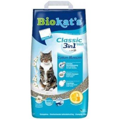 Biokat's Classic Cotton Blossom 3in1 5 kg