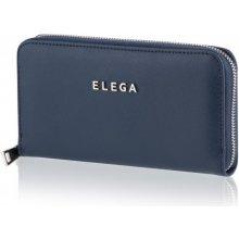 Samara Saffiano Dámská peněženka modrá / stříbrné kování DK-073