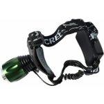 Qiim TT-602,Cree XM-L T6 LED s 2x baterie 18650