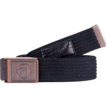 Meatfly Pásek Jasper belt D - Black/Black