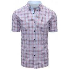 efddd944b10 Modrá pánská moderní košile čtverečkovaná