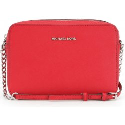Kabelka Michael Kors Jet set Travel Large crossbody červená f1fbfc07b69