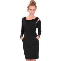 1ee9bf1bb616 Eidos dámské šaty Robe 83 Classic zipp black od 1 689 Kč - Heureka.cz