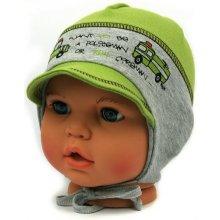 Dětské čepice Dětská čepice zelená - Heureka.cz 3fe081f4d2