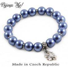 Náramek Bijoux Me 26bm002-30 modrý