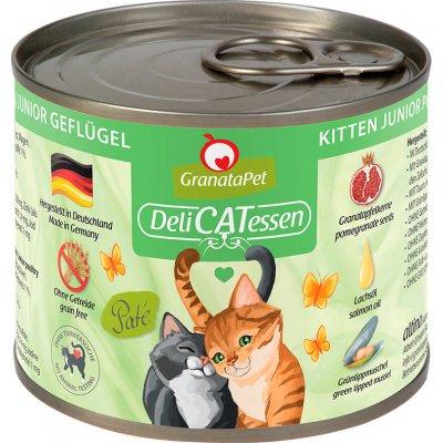 GranataPet pro kočky DeliCATessen Drůbež pro koťata 12 x 200 g