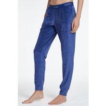 76d100b8f02 Calvin Klein modré dámské tepláky z mikrolyše Jogger